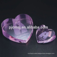 Elegant Pink Crystal Diamonds for Decoration & Gift & Paperweight