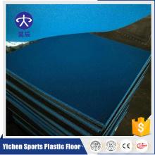 Plancher en caoutchouc de tapis de gymnases de haute densité pour le tapis en caoutchouc extérieur de terrain de jeu