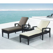 Bain de soleil rotin jardin extérieur Wicker Patio Furniture Beach