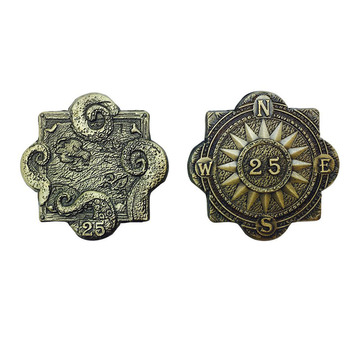 Pirate Variety Set of 10 Metal Adventure Coins
