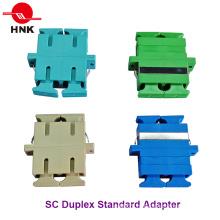Sc дуплекс одномодовый, многорежимный, Om3 и APC волоконно-оптический адаптер