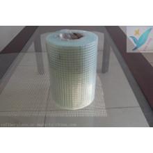 5mm * 5mm 60G / M2 techo de fibra de vidrio de malla