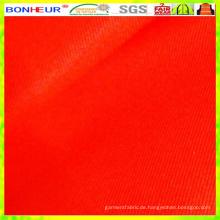 Hohe Sichtbarkeit 85% Polyester 15% Baumwolle 4/1 Satin Stoff