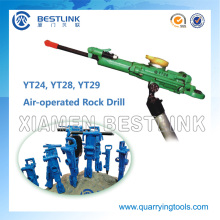 Downward Blast Holes Drilling Mini Jack Hammer Rock