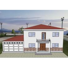 Chinese New Design économique Lgs Light Steel Villa