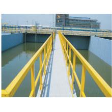 Passos de escada antiderrapante de FRP / GRP, FRP / GRP Handrial