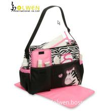 Zebra Duffel Baby Diaper Bag (DW-MO1432)