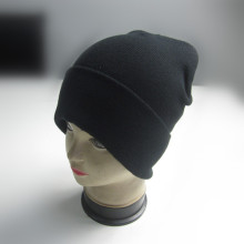 Blank Cotton Acrylic Cuff Beanie For Promotional