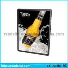 Fabrik Preis Werbung LED Schlank Poster Frame Light Box