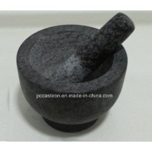 Granite Mortars and Pestles Size 15X11cm