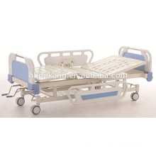 2 cranks manual hospital adjustable/ folding beds,