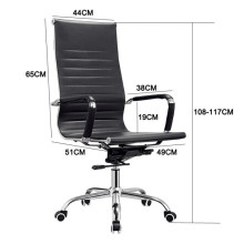 2018 Modern Computer Colorful Leather Office Chair Leather For Office