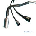 DEEM Durable Heat-Resistant black Fiberglass heat shrink sleeves for wire protection