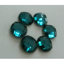 Emerald Flat Back Glass Beads Stones