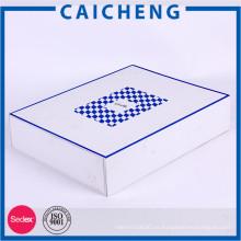 Cajas de cartón blancas plegables de gran tamaño de la caja de papel para la ropa
