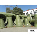GFK / GFK / GFK / Fiberglas / Composite Reducer
