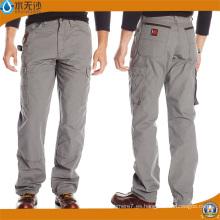 Pantalones de trabajo de la pierna ancha de los pantalones del trabajo de los hombres al por mayor