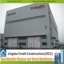 Cobertizos de estructura de acero de bajo costo