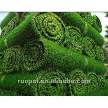 China Lieferant Kunstrasen feuerhemmend und UV-Beständigkeit Teppich Gras