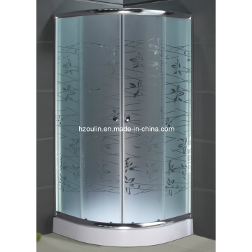 Showroom Privee Tempered Glass Simple Shower Room (AS-906)