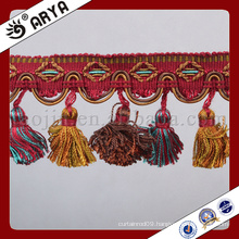 simple design curtain Fringe trim for Curtain decoration or other decoration