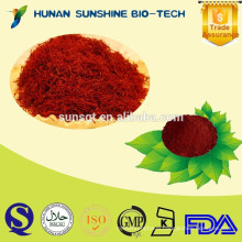 Hot sale Saffron P.E. powder 0.2%-0.4% Safranal CAS:116-26-7