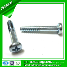 M4.5*27 Half Thread Round Head Self Tapping Screw