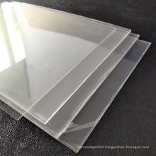 122*2440mm Clear PET Sheet Supplier Clear PET Sheet 2mm For Barrier Usage