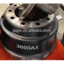 Heavy duty 3600a brake drum