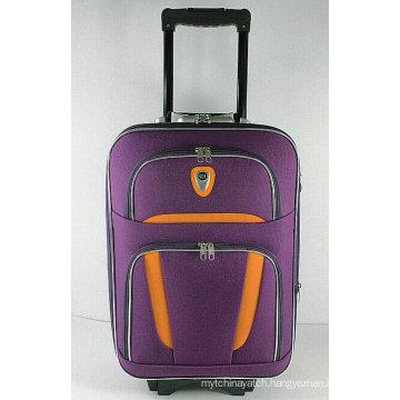 Cheap Fashion Soft EVA External Trolley Travel Luggage