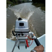 Motor fora de bordo Sail 4 tempos 4HP com aprovação CE