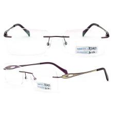 2015 Fashion Titanium Rimless Eyeglasses (BJ12-297)