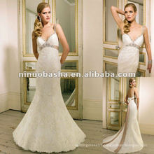 Sweetheart Neckline,Glamorous Figure-hugging Lace Wedding Dress