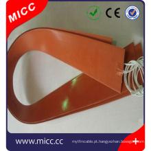 Aquecedor elétrico de silicone DC para micc