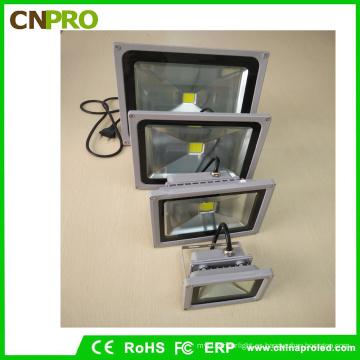 Inundación blanca fría de 10W LED con fundición a presión de aluminio