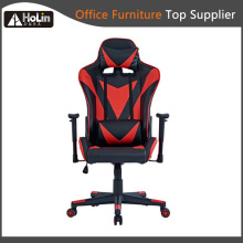 Cadeira ergonômica para jogos de corrida em couro PU para PC