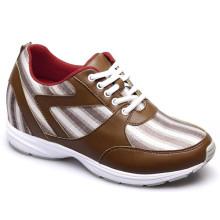Sapatas Running dos calçados running dos esportes dos homens Sapatas Leisural com laço