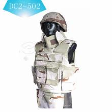 NIJ II ou NIJ IIIA colete balístico coletes à prova de balas armadura de corpo DC2-5