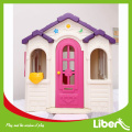Children plastic indoor playhouse
