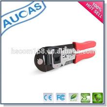 Rj45 cable de red herramienta de crimpado / Cable de red Alicates / conector modular de enchufe herramienta de mano / cable Ethernet herramienta de corte de corte