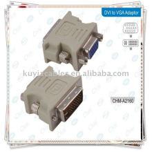 DVI male to VGA female adaptor