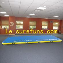 inflatable tumbling mats