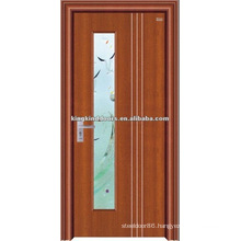 Best simple design steel wood door JKD-2003(Z) made in China