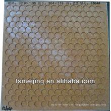 Molde de cerámica para mosaico