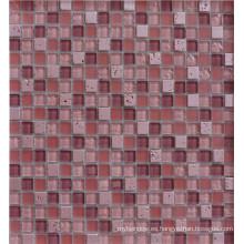 Mosaico de la piscina de 4m m, mosaico de la pared, mosaico del vidrio cristalino