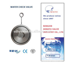 wafer flap check valve