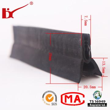Solid Rubber Auto Door Seals Strip