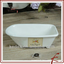 China Wholesale Fábrica de porcelana Ceramic Soap Dish Soap Holder