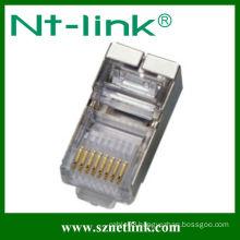 With shield rj45 8p8c modular plug/connector
