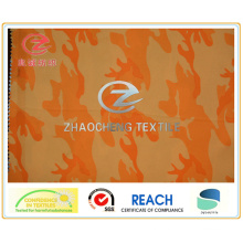 240t Poly Pongee Fire Style Printing Fabric (ZCBP180)